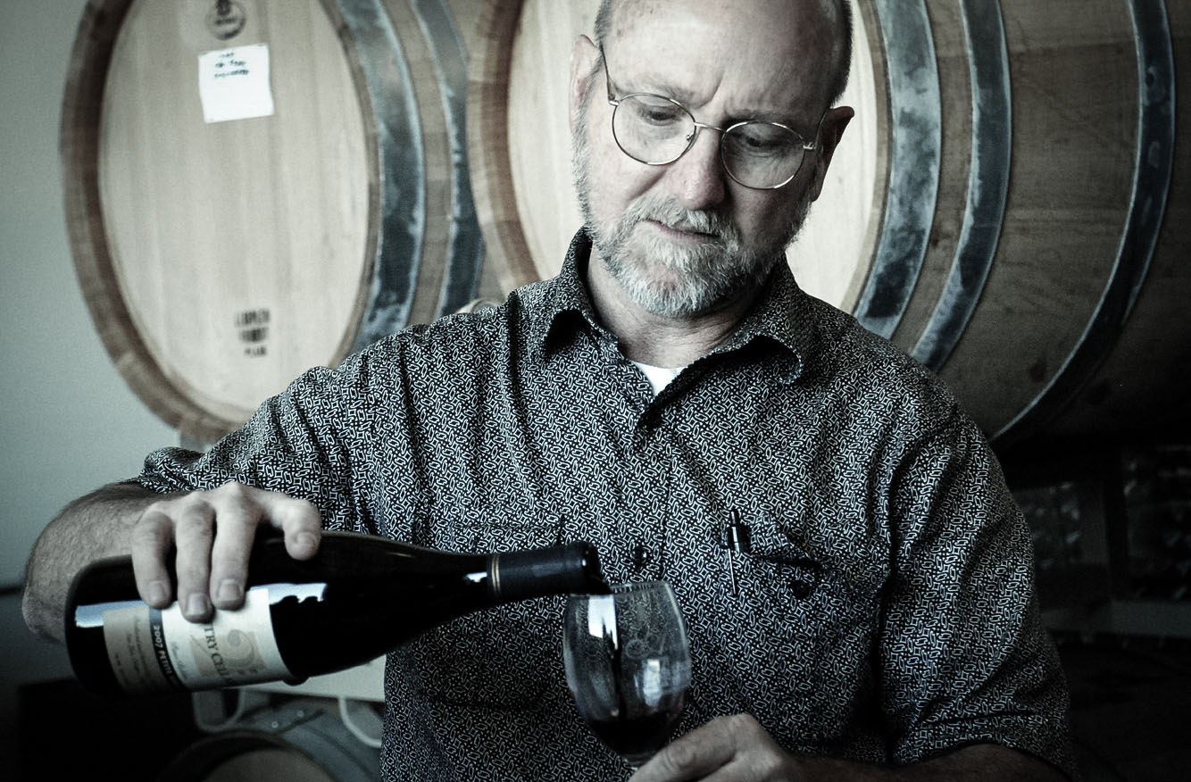 Steve Autry is personally involved in every facet of winery operations.